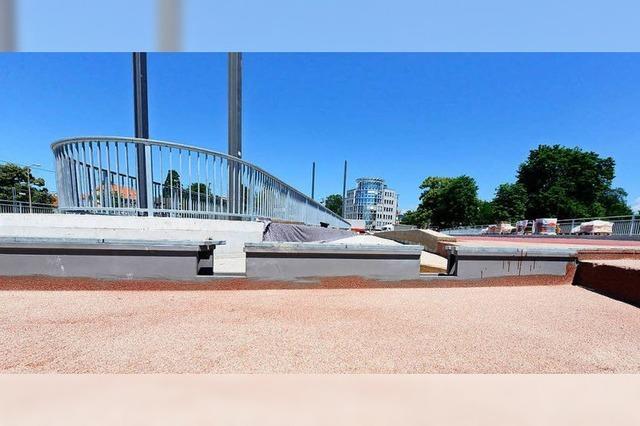 Rad- und Fußweg über die Kronenbrücke werden am Mittwoch geändert