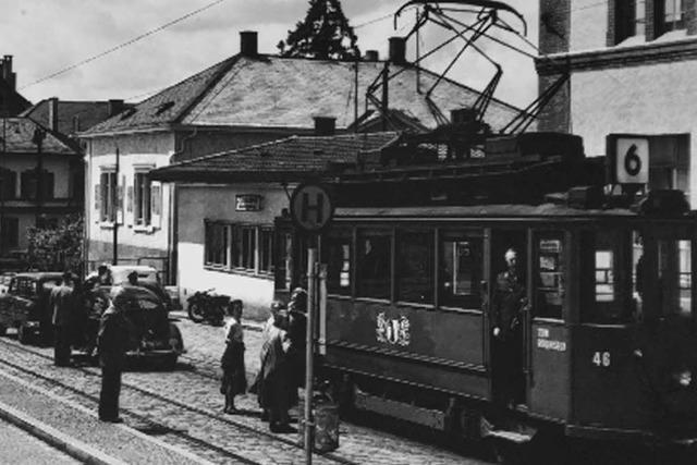 Wie Lörrach 1919 zu einer Straßenbahn kam – die 1967 eingestellt wurde