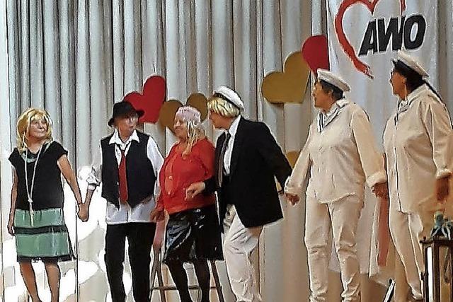 Ein Seemann auf St. Pauli und Tanz mit Peter Pan