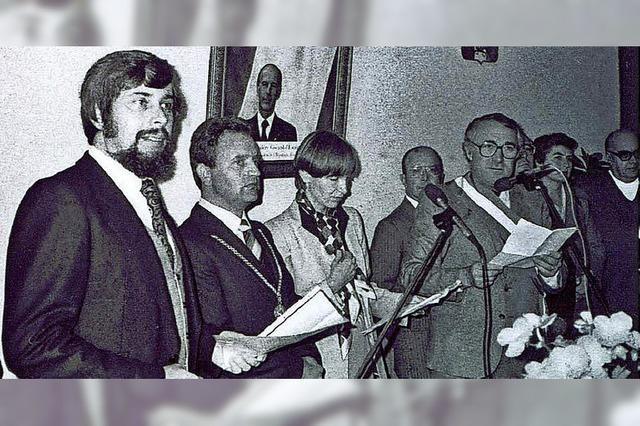 Alt-Bürgermeister Ernst Rees feiert 80. Geburtstag