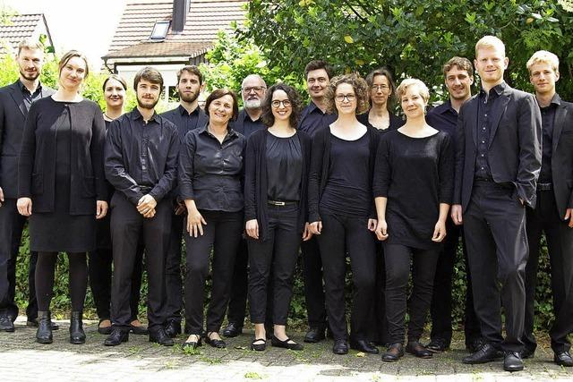 Das William Byrd Ensemble Freiburg singt Johann Sebastian Bach