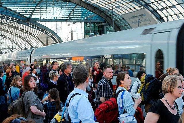 Die Bahn verkauft online keine Tickets mehr, wenn Überfüllung droht