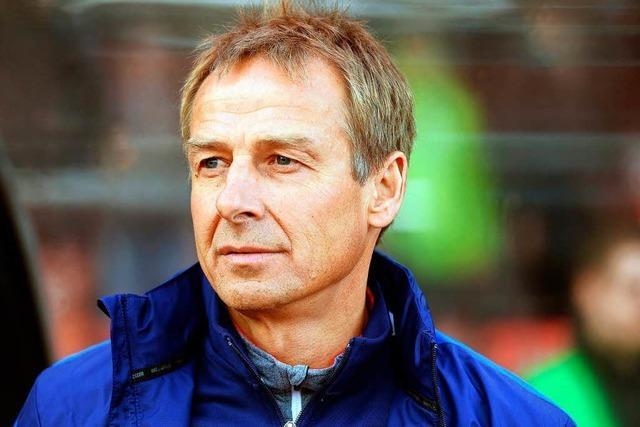 Jürgen Klinsmann wird beim VfB Stuttgart zum Thema