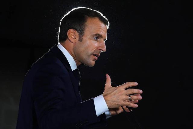 Macron fordert die Bildung einer