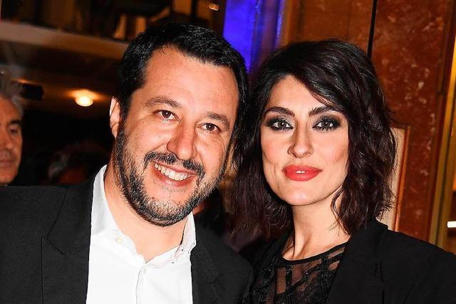 Schluss gemacht über Instagram: Italiens Vize-Premier Salvini ist wieder Single
