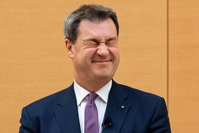 Söder fordert von neuem Landtag mehr Stil, Anstand und Optimismus