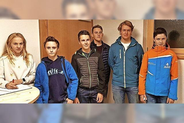 Neuer Vorstand für die Jugend der Ski-Zunft