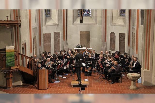 Geistliche Musik mit dem Evangelischen Posaunenchor Bötzingen und dem Evangelischen Bläserkreis Bötzingen