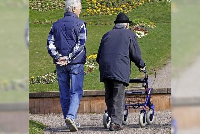 Wie können Menschen in der Stadt Emmendingen alt werden?