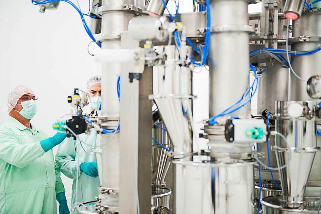Die Tabletten, Kapseln und anderen Arz... werden in etwa 150 Länder exportiert.  | Foto: Pfizer Deutschland GmbH