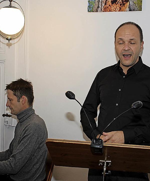 "Das Duo ""Lutgnueg""   | Foto: Brichta"