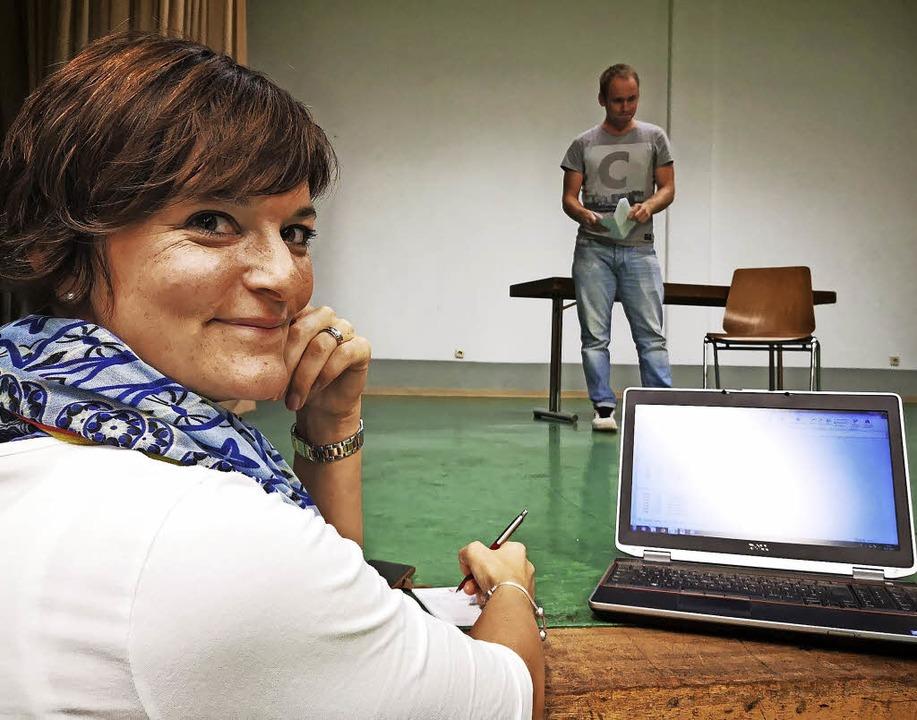 Andrea Kiefer ist seit zehn Jahren Regisseurin beim Ölfde Ölfde in Zell.  | Foto: Fasnachtsgesellschaft Zell
