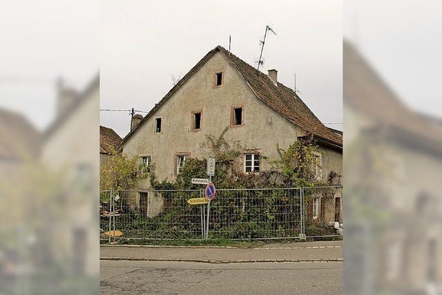 Haus an der Kandertalstraße wird abgerissen
