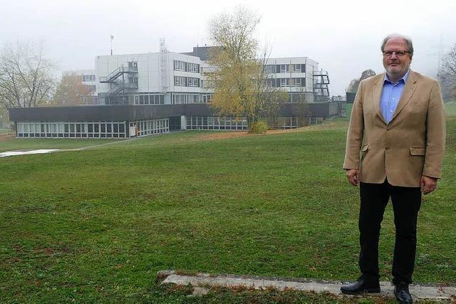 Wie sich Geschäftsführer Peter Mast den neuen Gesundheitscampus in Bad Säckingen vorstellt