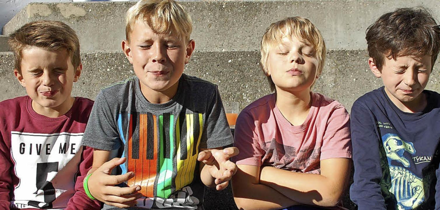 Wie sieht man aus, wenn man einen best...ppe des Jugendzentrum JUKS St.Georgen.  | Foto: Luca Koch