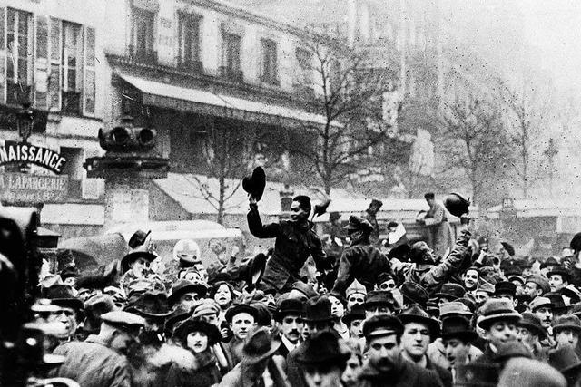 Endzeit hier, Neubeginn dort: Perspektiven auf den Ersten Weltkrieg