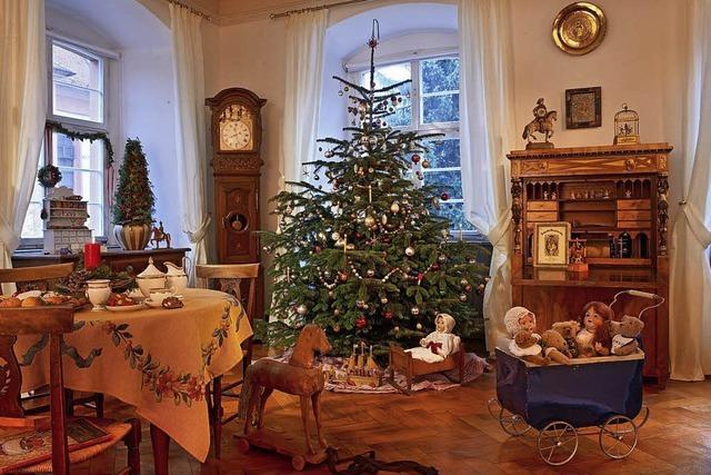 Hach statt brrrr: Weihnachtsmarkt im Elztalmuseum
