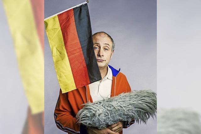 Alfons, der Mann mit dem Puschelmikrofon, kommt nach Lahr