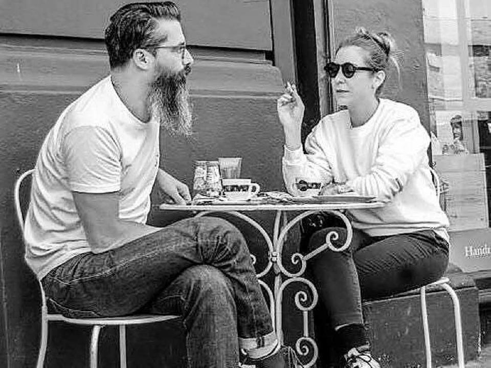 Lena Willikens und Vladimir Ivkovic,  ... legen am Samstag im Elysia Basel auf.    Foto: Anne-Marie Laurent