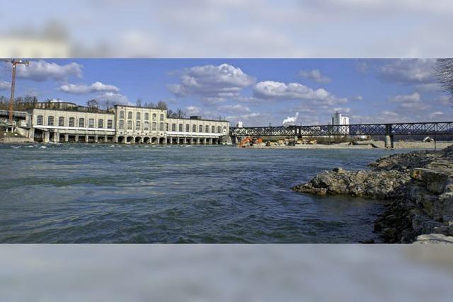 Die Ausschreibung für den Rheinsteg ist aufgehoben