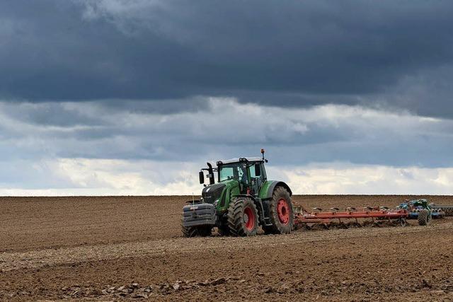 Für die Landwirtschaft wird es enger