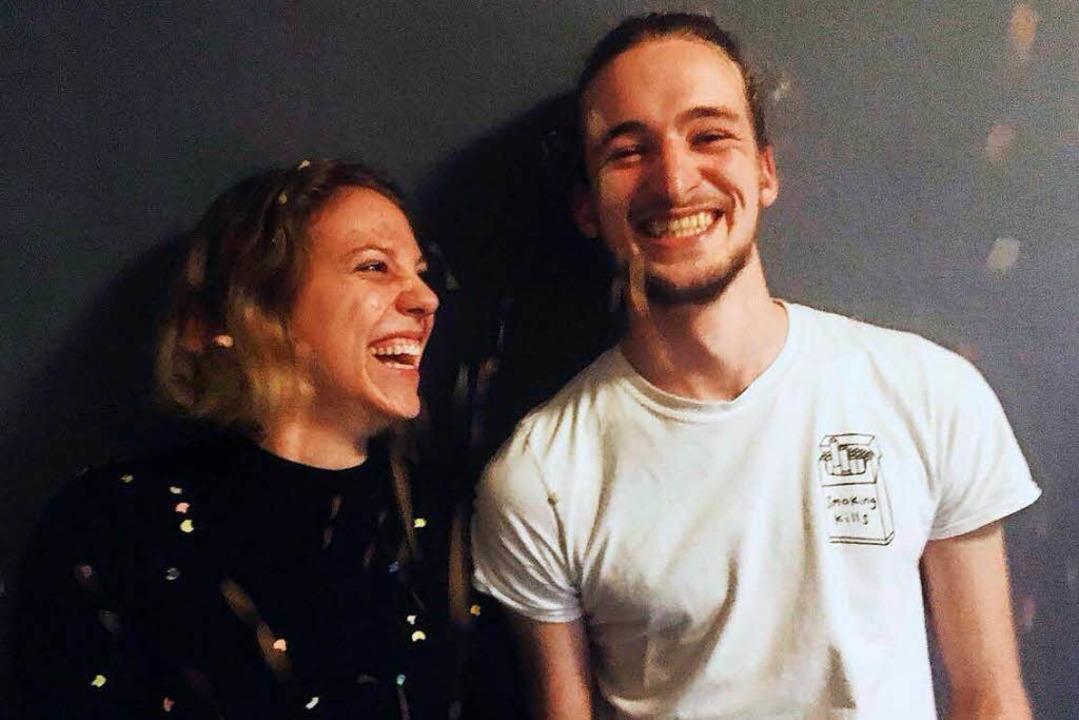 Kira Kurz und Leon Schmalstieg  | Foto: Nastassja Scheibenberger