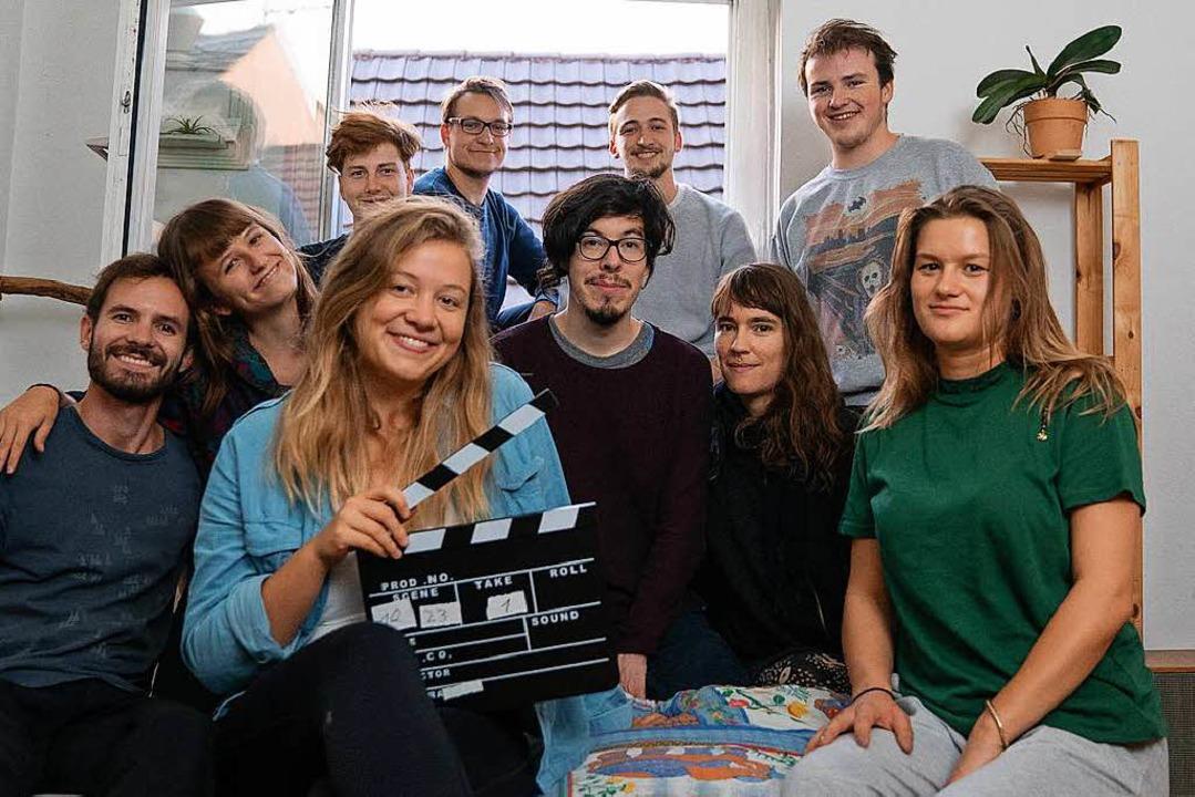 Das komplette Feuerzeug-Filmteam  | Foto: Feuerzeug Freiburg