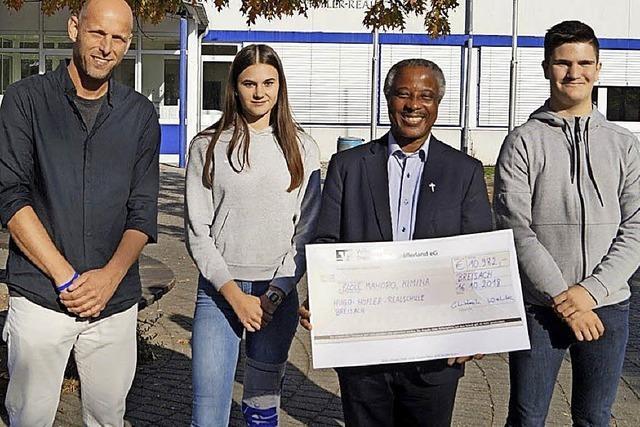 11 000 Euro für ein Mädcheninternat in Burundi