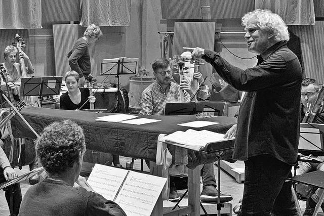 Das Freiburger Barockorchester und sein größter Fan: Erstes gemeinsames Projekt mit Sir Simon Rattle