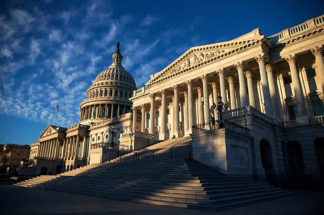 Das Kongressgebäude in Washington &#82...ür Trump das Regieren nun schwieriger.  | Foto: afp