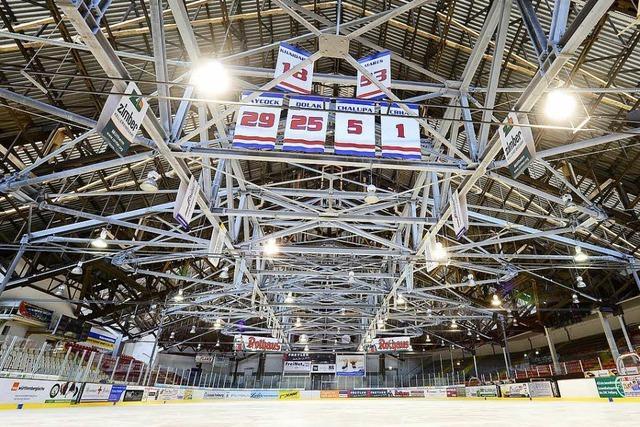 EHC und Stadt wollen Bau der Eishalle vorantreiben