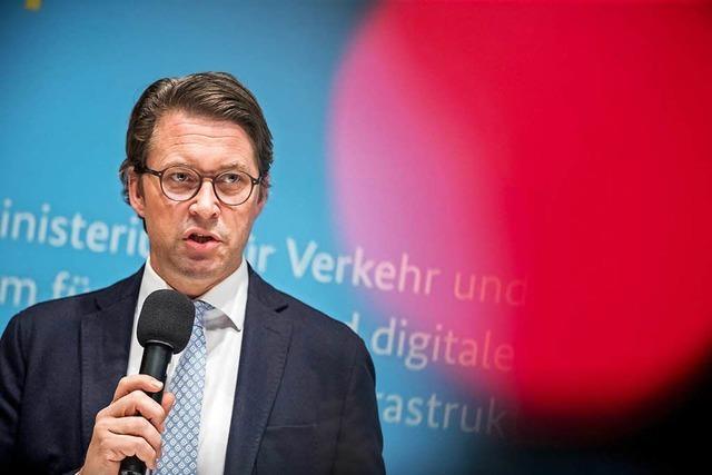 Scheuer: Deutsche Autobauer zu 3000 Euro für manche ältere Diesel bereit