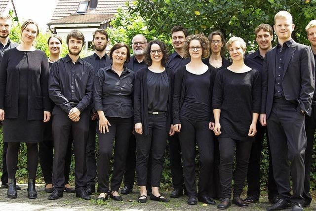 William Byrd Ensemble in der Wallfahrtskirche Ettenheimmünster