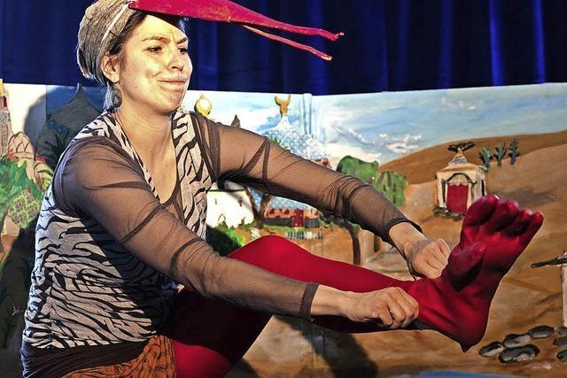 Mediathek Wehr zeigt am, Montag, 12. November, das Kindertheaterstück Kalif Storch