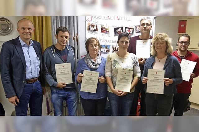 Ehrungen für Blutspender in Rickenbach