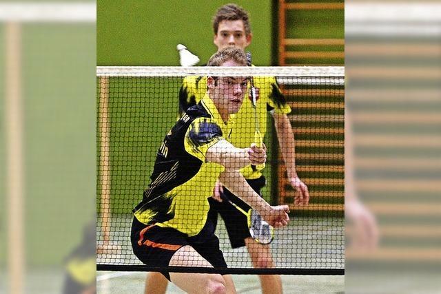 Lokalduell im Badminton