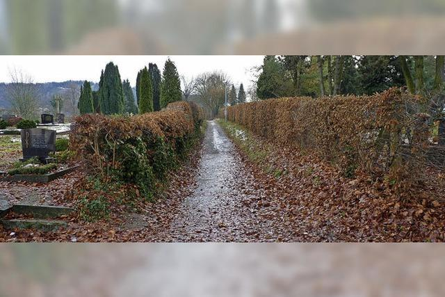 Friedhof als Ort der Begegnung
