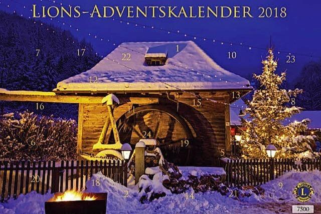 Ein Kalender für den Advent, der andere für's (Narren-)Jahr 2019