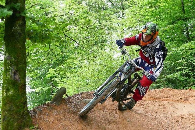 Mountainbiker gründen Verein zum Erhalt des Eggberg-Trails bei Bad Säckingen