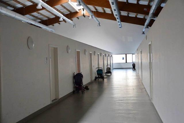 Der Landkreis Lörrach baut Unterbringungen für Flüchtlinge ab