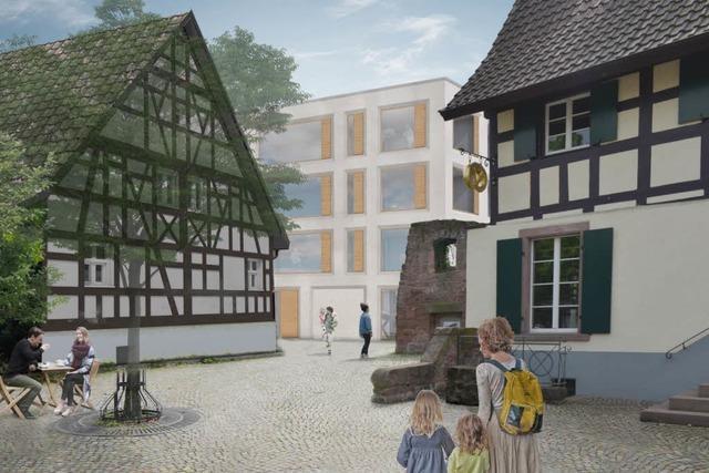 Nur ein Bauentwurf will Fachwerkhaus in Gundelfinger Ortsmitte retten