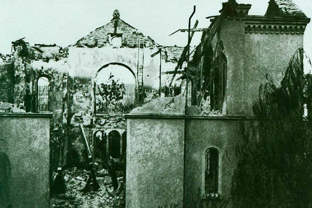 Die Aufnahme von Wolf Middendorff vom 10. oder 11. November 1938  | Foto: Stadtarchiv