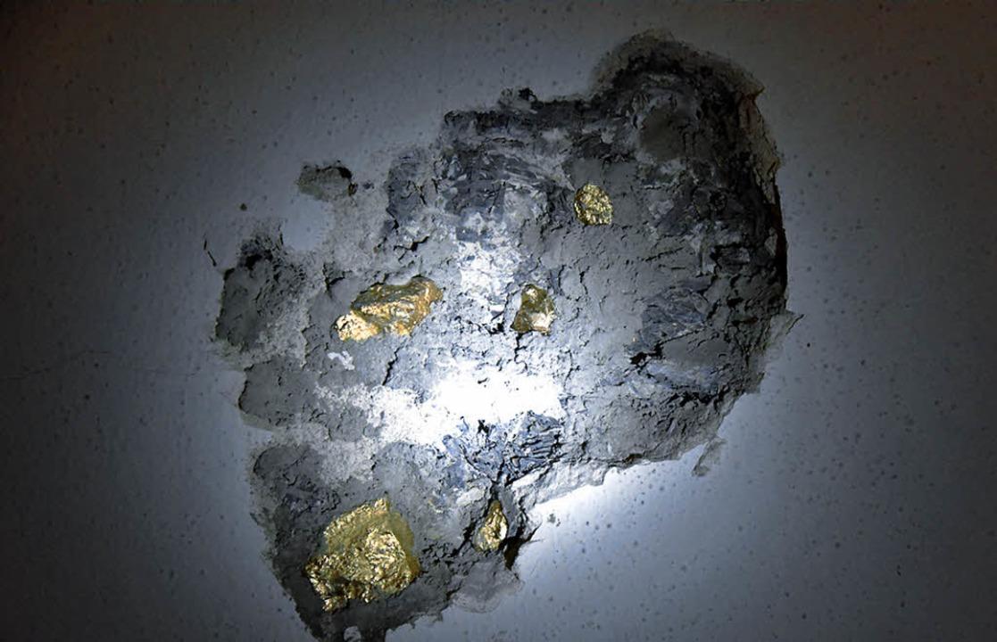Goldschürfen im Tresorraum  | Foto: Markus Zimmermann