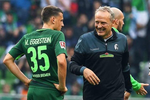 Gewinnen Sie Karten für das SC-Spiel gegen Werder Bremen