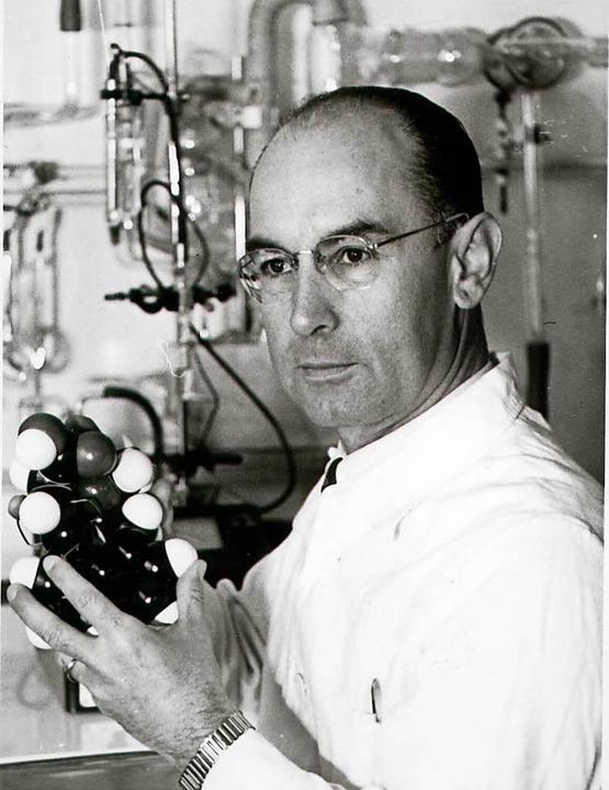 Albert Hoffmann, der Entdecker von LSD  | Foto: novartis (dpa)