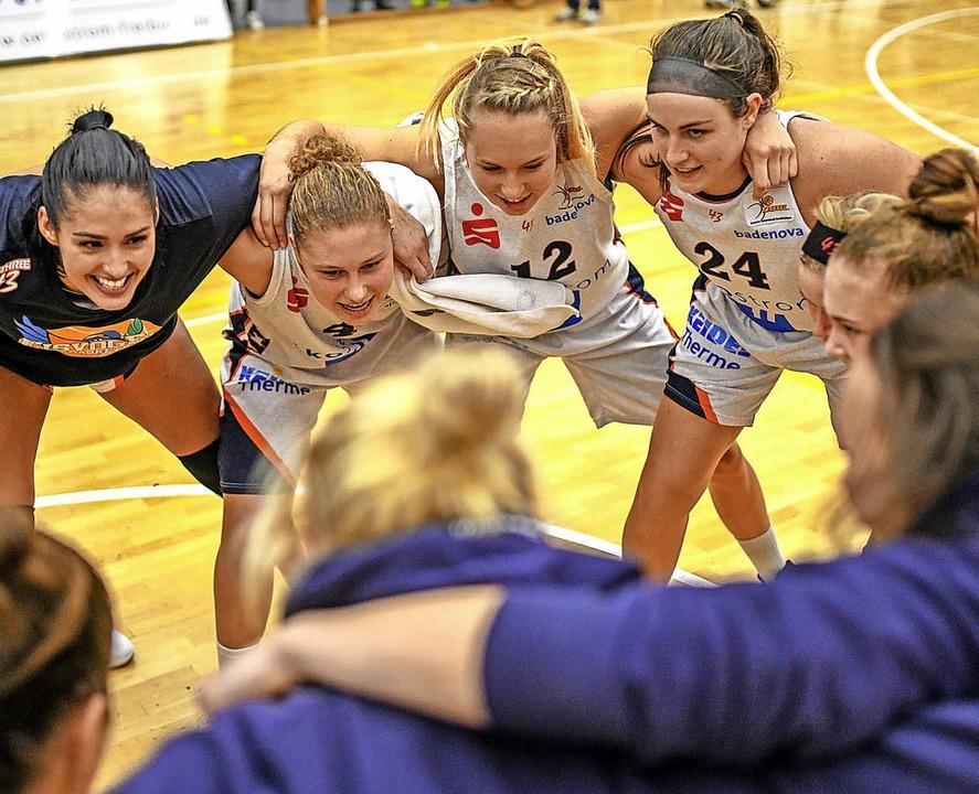 Ein starkes Team an der Dreisam: die Eisvögel des USC Freiburg   | Foto:  PATRICK SEEGER