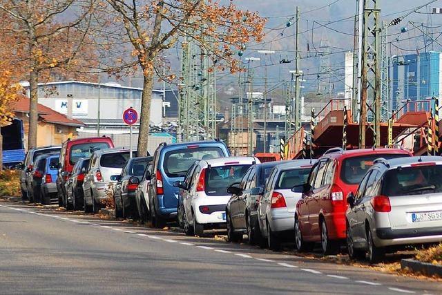 In Lörrach diskutiert der Ausschuss für Umwelt und Technik über Parkplätze