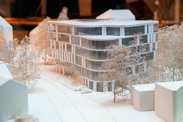 So könnte der geplante Neubau auf dem Pfunder-Areal aussehen