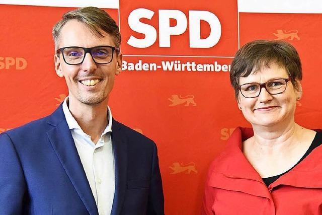 Breymaier und Castellucci machen in Waldkirch Wahlkampf für sich