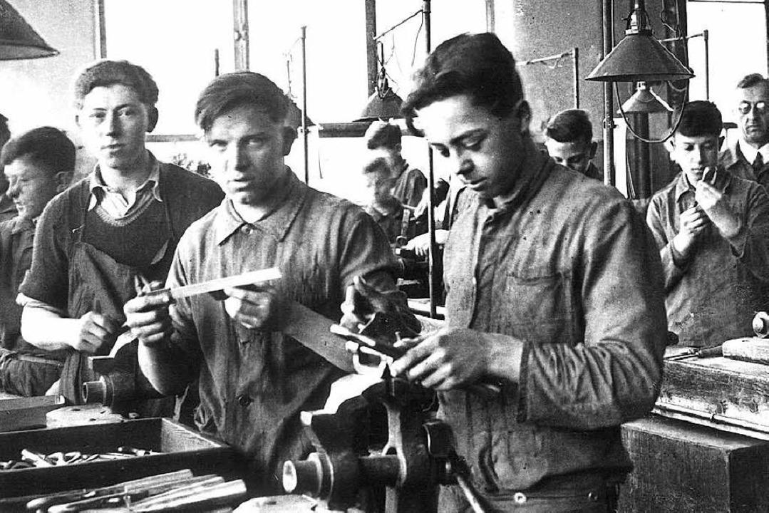 Ein Blick in die Aesculap-Werkstatt der 1930er Jahre    Foto: Archiv Aesculap